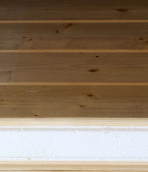 pannello legno e isolante isper