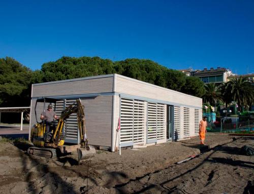 """Realizzazione casa in legno circolo pescatori """"Balin"""" Sestri Levante"""