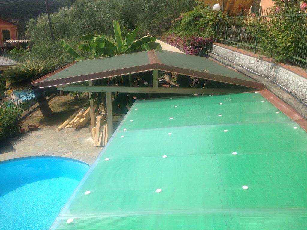 tettoia legno zoagli